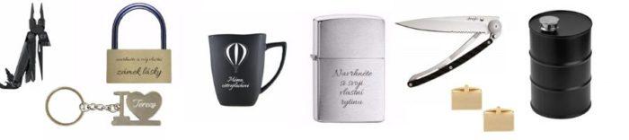 Personalizované dárky pro muže