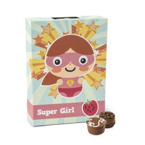 čokoládky pro superhrdinku