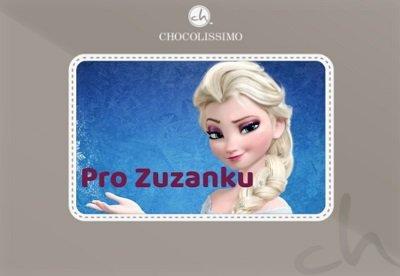 personalizovaná čokoláda - dárek pro dceru