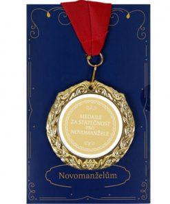 Medaile s přáním - Novomanželům