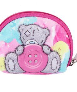 Minipeněženka - Medvídek s knoflíkem