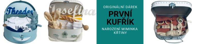 Originální personalizovaný dárek ke křtinám a pro nové miminko
