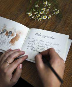 """Osobní dárek pro kamarádku: kniha """"Skvělé kamarádce"""""""