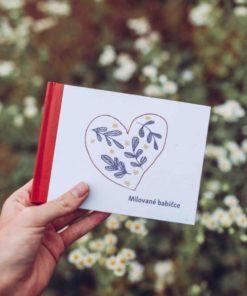 Personalizovaný dárek pro babičku - kniha na vyplnění