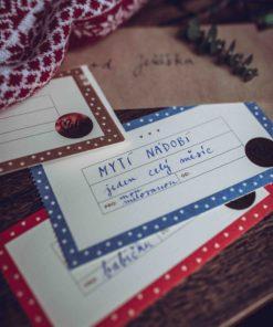Originální dárkový voucher s přáními