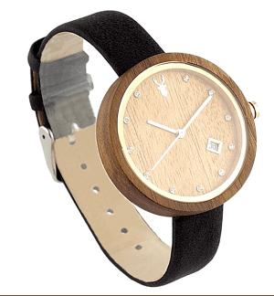 dámské dřevěné hodinky