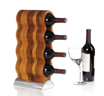 designový stojan na víno-min