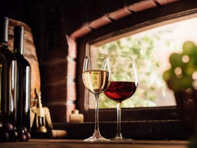 domácí degustace vína