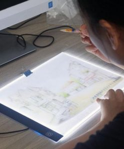 Svítící led deska na obkreslování