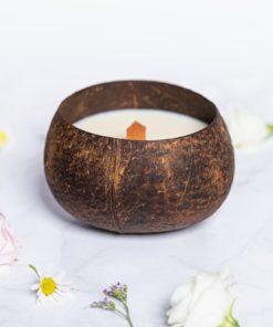 Sojová svíčka s vůní kokosu