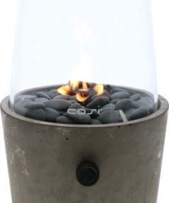 Betonová plynová lampa