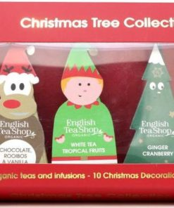 English Tea Shop Vánoční figurky, 10 pyramidek