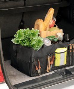 Skládací organizér do kufru auta