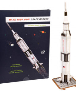 Vesmírná raketa - 3D puzzle