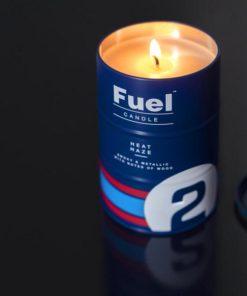 Vonná svíčka pro milovníky automobilových závodů