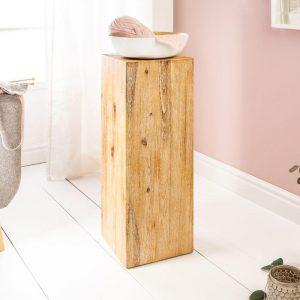 dekorativní sloup /podstavec ze dřeva