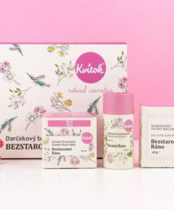 Dárkový kosmetický balíček Bezstarostné ráno - luxusní dárek pro ženu