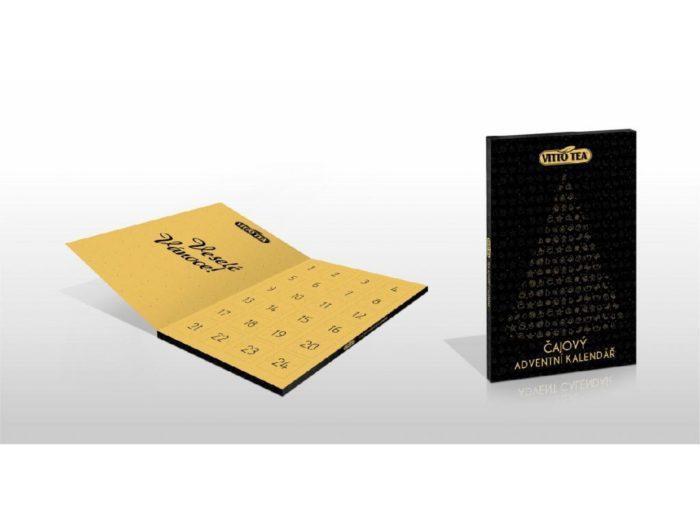 Čajový adventní kalendář