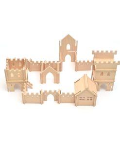 URBIX - dřevěná stavebnice Hrad