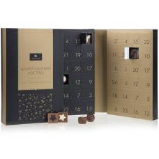 adventní kalendář plný kvalitní čokolády