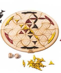 Dřevěná autorská hra EQUILIBRIX Connect