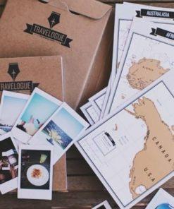 dárek pro cestovatele - deník