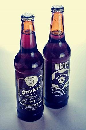 pivo s vlastní etiketou