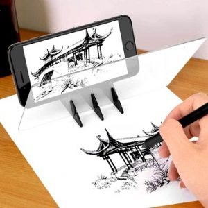 projektor na obkreslování z mobilu