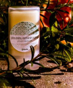 CITRO MÁTA, ROZMARÝN A GREP přírodní deodorant (malý)