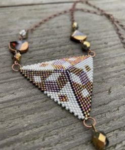 Trojúhelník - náhrdelník