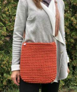 Oranžová kabelka