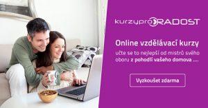 Online kurzy . vhodný dárek pro každého