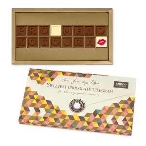 čokoláda s textem pro muže