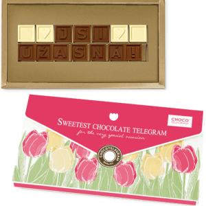 Dárek pro úžasnou ženu - čokoláda