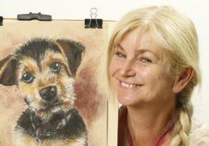 online kurz malování zvířat pastelem