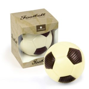 Čokoládový fotbalový míč