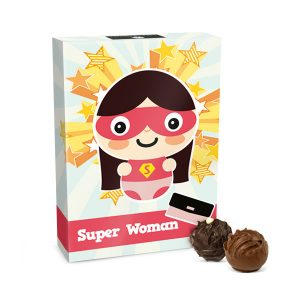 čokoláda pro ženu