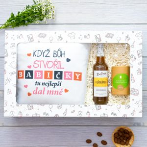 Dárková krabička SABLIO - Pro babičku