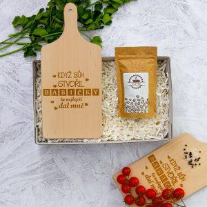 Dárková krabička SABLIO - Pro babičku do kuchyně