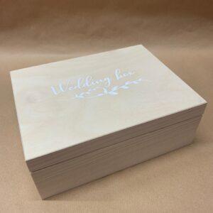 Dárková svatební krabička k naplnění