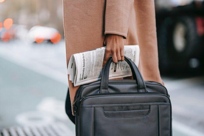 kožená taška k promoci