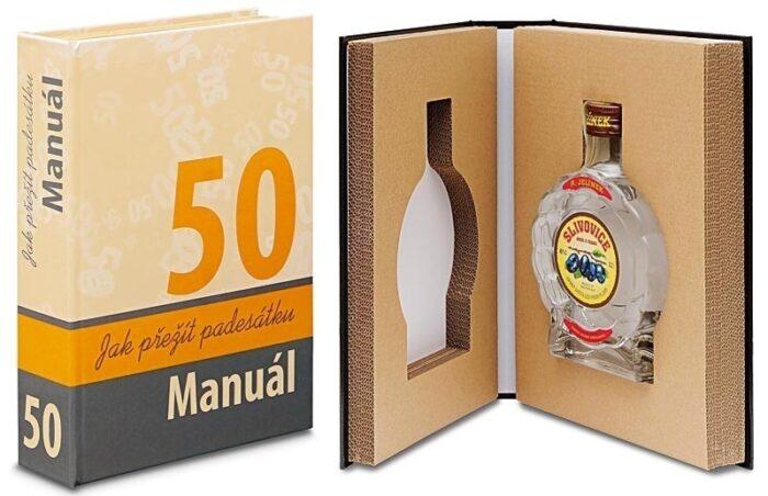 dárek k 50 narozeninám alkohol v knize