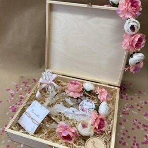 Květinový box pro nevěstu