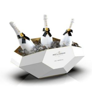 luxusní kyblík na šampaňské