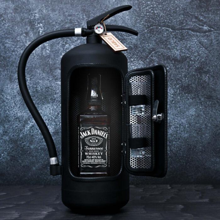 hasičák s alkoholem